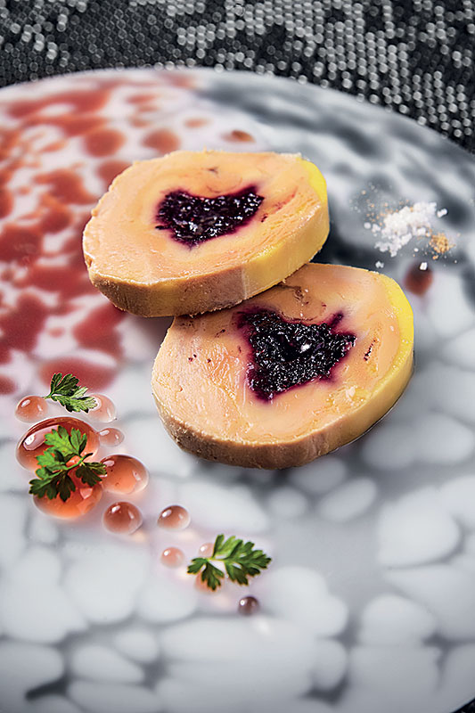 Etang Du Moulin - Foie Gras aux Fruits Rouges